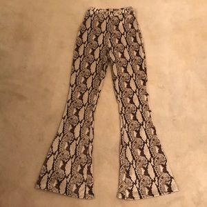Snake Print Pretty Little Thing Pants